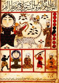 Изображение знака Стрельца в арабской астрологии